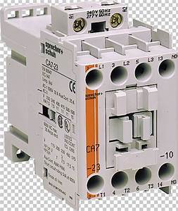 Circuit Breaker Contactor Wiring Diagram Electrical Wires