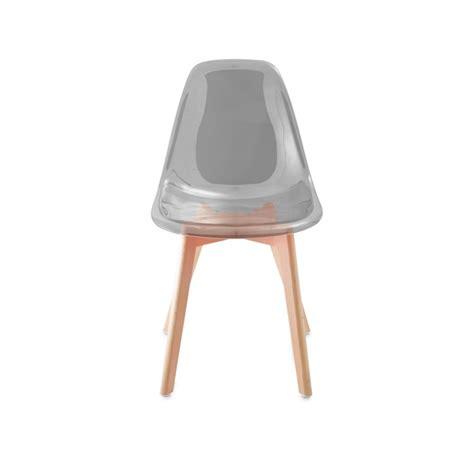 pied de chaise scandinave chaise scandinave avec pieds en bois mod 200 le light de gasoline