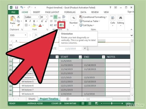 Convertir En Template Hoja Word by Pet Animal How To Create A Timeline In Excel