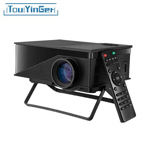touyinger t1 led mini projector support hd 1080p
