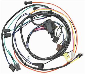 M U0026h 1970 Chevelle Engine Harness V8 Hei W  Manual Trans