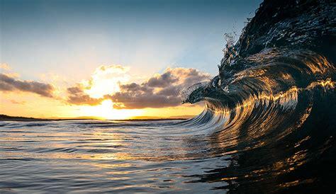 majestic power  ocean waves captured  warren