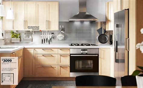 ikea wooden kitchen furniture