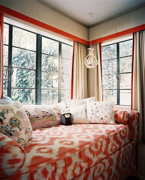 beautiful daybed cover in living room eclectic with