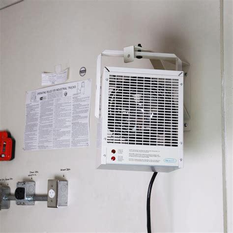 garage heater electric newair g 70 portable electric garage shop heater 4 000