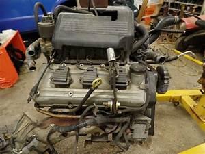1998 Acura Slx Isuzu Trooper 3 5 Complete Engine Motor Vin