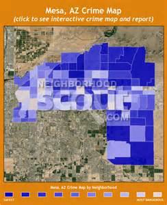 Mesa AZ Crime Rate Map