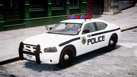 dodge charger fbi police  gta
