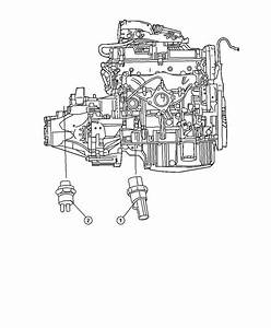 Jeep Patriot Switch Package  Oil Pressure  Switches  Powertrain  Engine