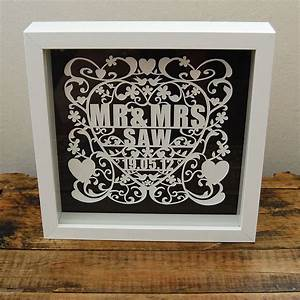 love and marriage hand cut paper artwork by ditsy chic ...