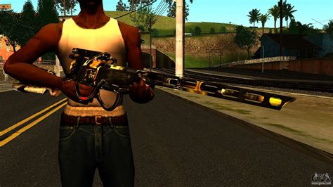 laser rifle wattz   gta san andreas