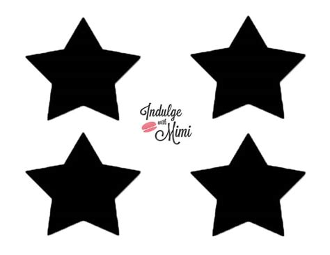 star template macarons