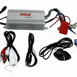 A Pyle 4 Channel Amp Wiring