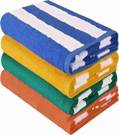 Towels 30x60 Cotton Cabana Stripe Resort Pool