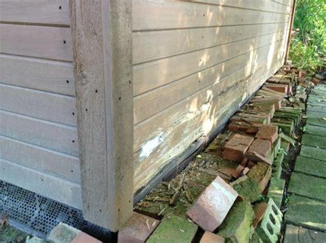 rotting wood  shed doityourselfcom community forums