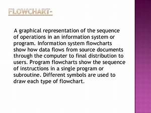 Presentation On Diagram And Flowchart