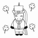 Cute Leprechaun Fat Cartoon Patrick St Vector Ale Froth Pot Coloring Illustration sketch template