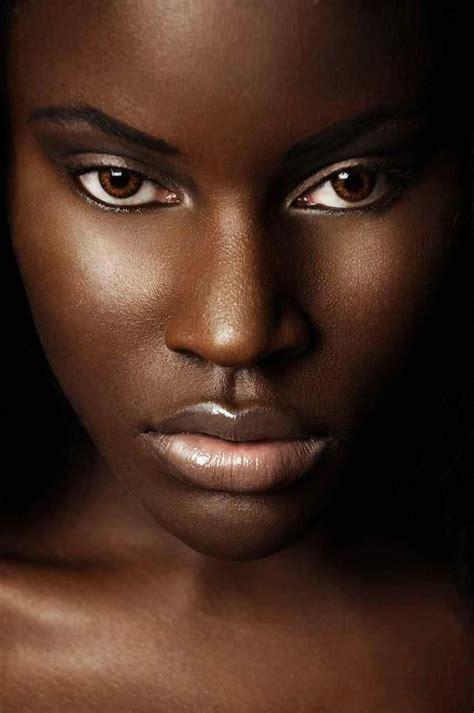 images  pretty black girls  pinterest dark skinned women models  black women