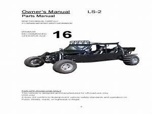 Joyner Ls-2 Buggy - Wiring Diagram - Owners Manual