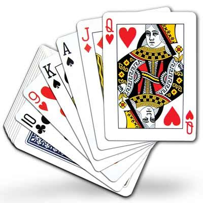 Free Deck Pinochle by Pictures Of Deck Of Cards Clipart Best