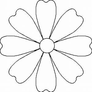 Flower Petal Template For Kids - Cliparts.co
