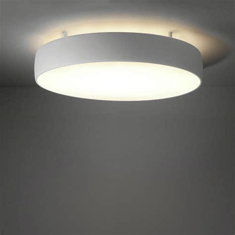 lustre de chambre plafonnier modular lighting flat moon plafonnier