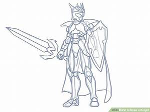 How to Draw a Knight (with Pictures) - wikiHow