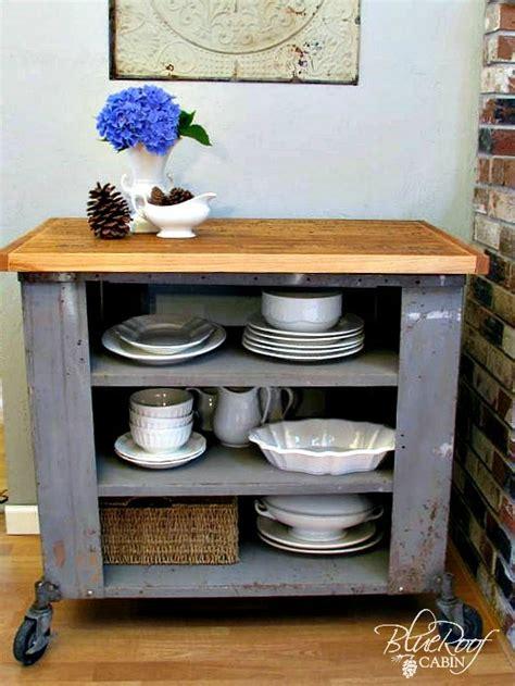 diy kitchen island cart blue roof cabin diy industrial kitchen island or cart or