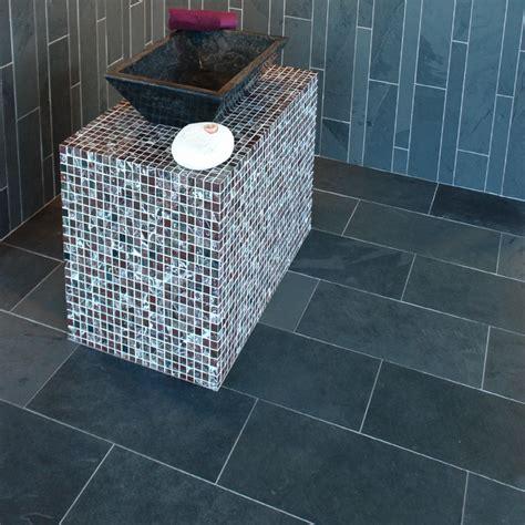 cuisine marbre noir dalles carrelage ardoise 60x30 indoor by