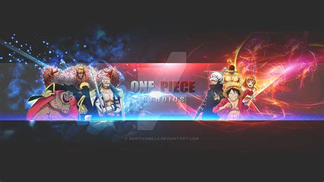 anime youtube channel art ops channel art youtube one channel design by
