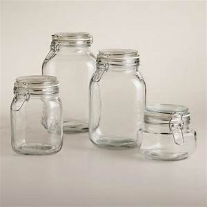 Round Glass Jars With Clamp Lids World Market