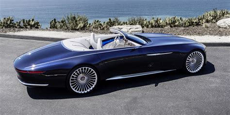 vision mercedes maybach  cabriolet future luxury