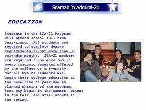 odu letter of recommendation seaman to admiral 21 program