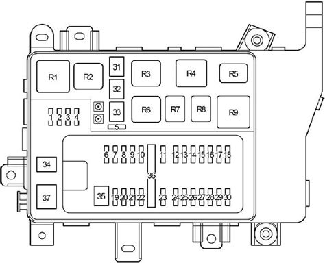 1998 2007 toyota land cruiser 100 fuse box diagram 187 fuse