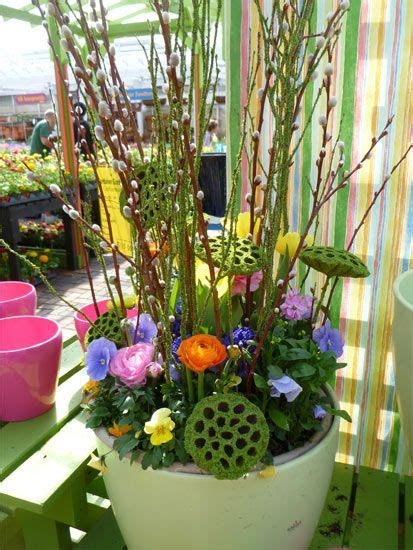 Best Spring Containers Images Pinterest Easter