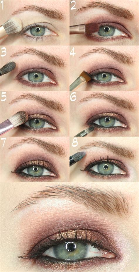 makeup tips  person  hooded eyes