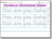 Handwriting Worksheets Maker 1000 Images About Handwriting On Handwriting Worksheets Handwriting Practice And