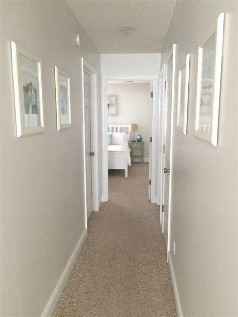 ways  update  brighten  dark hallway