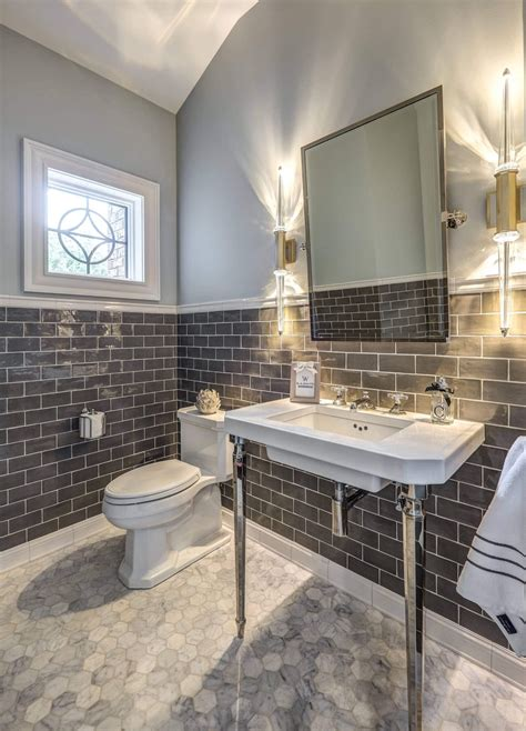 Half Bathroom Tile Ideas by 50 Clever Half Bathroom Ideas For Beautiful Bathroom