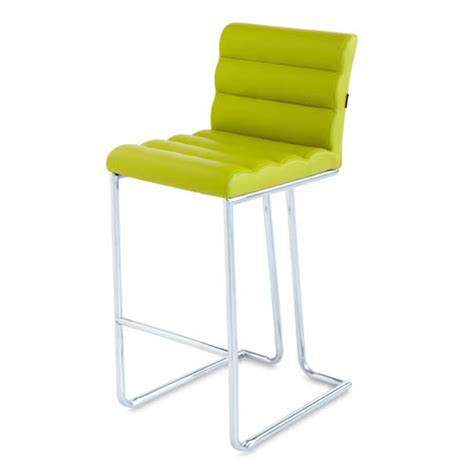 lime green kitchen stools counter height modern bar stool with metal base 7103