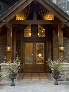 Elegant Yet Rustic Indoor Lighting For Mountain Home