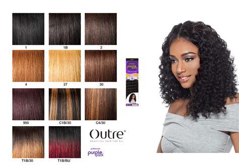 Outre Premium Purple Pack Deep Wave Weave