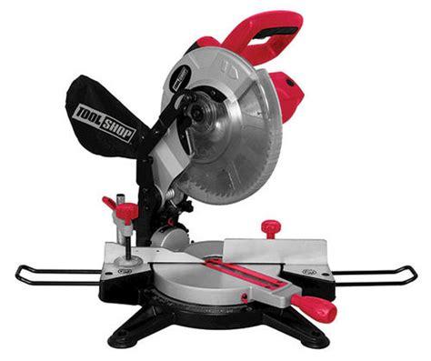 tool shop tile saw menards 10 quot tool shop 174 compound miter saw at menards 174