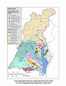 Map Of The Chesapeake Bay Watershed  Source  Chesapeake