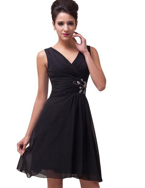 megan black chiffon cocktail dress vintage clothing
