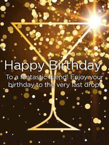 fantastic friend happy birthday card birthday