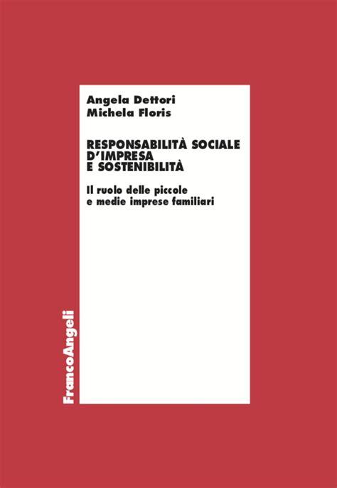responsabilita sociale dimpresa  sostenibilita il ruolo