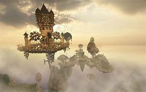 Steampunk Flying City | www.pixshark.com - Images ...
