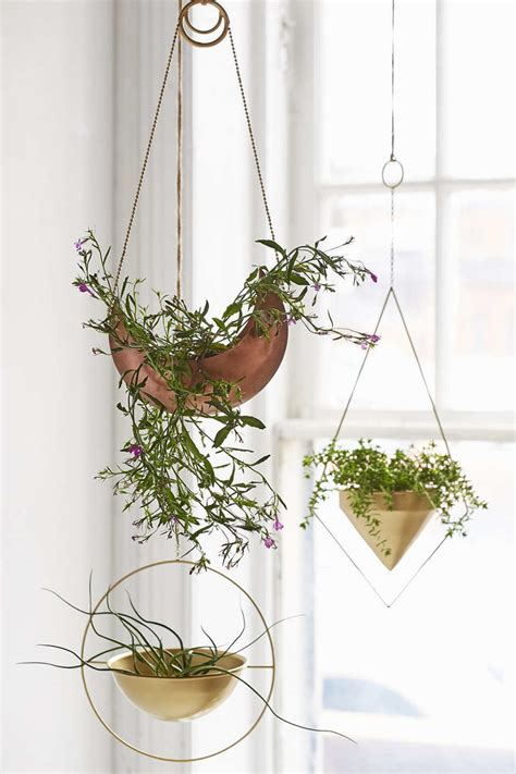 decorative plant hangers indoor the best hanging planters popsugar home
