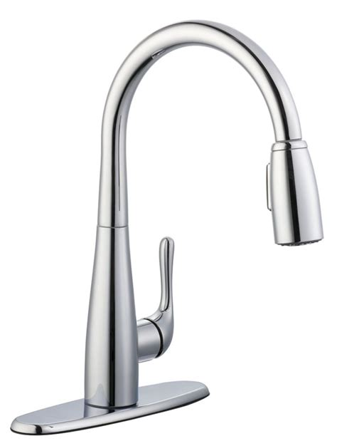 glacier bay kitchen faucets glacier bay 900 series pulldown kitchen faucet in chrome the home depot canada